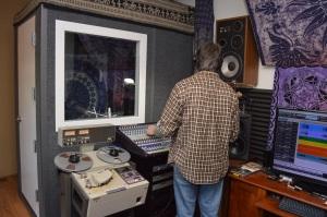 Mark tracks to tape